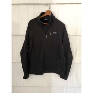 Men's Black Better Sweater Jacket